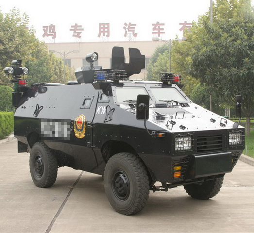 05type wheeled armored vehicle for police